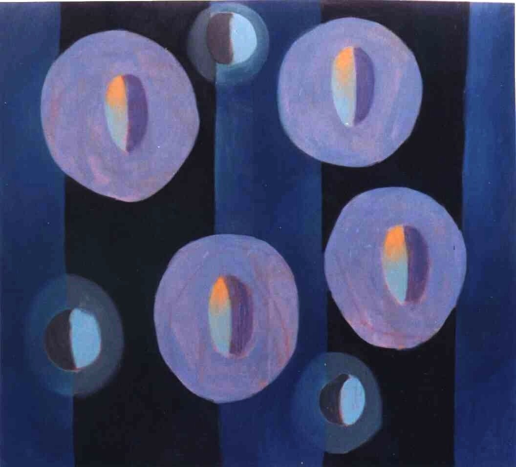 &#39;vergeten herinneringen&#39;, olieverf op doek 180x200, &#39;97